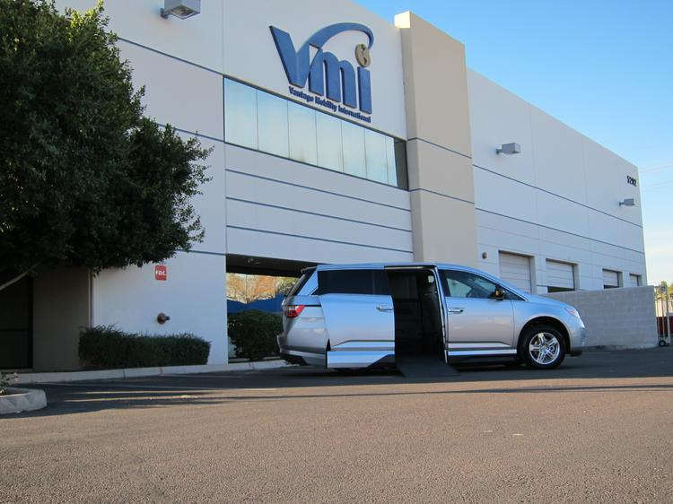 Phoenix-based Vantage Mobility International converts vehicles from automakers such as Honda and Toyota for physically disabled and wheelchair-bound individuals.