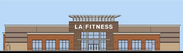 Eastgate Marketplace will be anchored by a 41,000-square-foot LA Fitness.