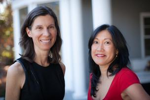 Jennifer Fonstad, left, and Theresia Gouw are launching venture capital firm Aspect Ventures.