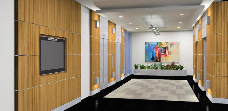 New elevators will be installed at University Place at City Center in Coral Springs.
