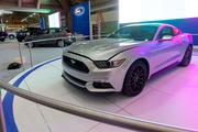 The latest Ford Mustang at the Baltimore Auto Show in the Convention Center.