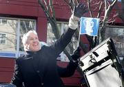 Seahawks head coach Pete Carroll waves to fans during the victory parade. Seattle police early on estimated that more than 700,000 people turned out of the Seahawks Super Bowl victory parade on 4th Avenue in downtown Seattle.