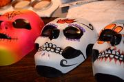 Painted masks will be offered as a complimentary gift to all guests, Wednesday through Saturday.