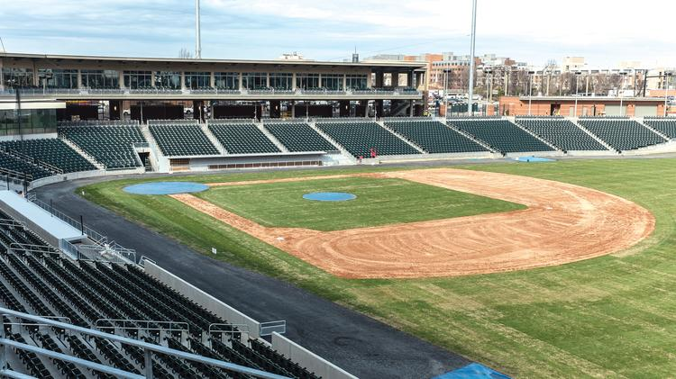 The Knights begin play at BB&T Ballpark on April 11.