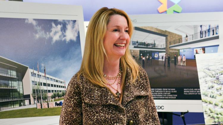 FedEx Office COO Kim Dixon says she's wanted to update the company's North Texas space since she interviewed with the company more than three years ago.