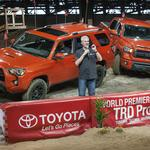 Toyota unveils Texas-made off-road pickups