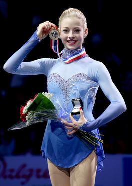 Gracie Gold, who won the U.S. Figure Skating Championship at TD Garden in Boston last month. The championships will be held in Greensboro in 2015.