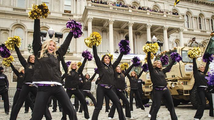 Perhaps Ravens fans could be in store for another Super Bowl celebration this season.