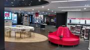 Verizon Wireless opened its new store format, called a Smart Store, in Wichita's NewMarket Square on Thursday.