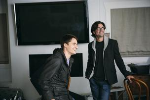 Shawn Lewis (left) and Daniel Conrad (right) are the co-founders of Beep.