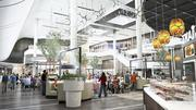 "Westfield Montgomery Mall has dubbed its soon-to-be-renovated space as the ""dining terrace"" with more sit-down restaurant options and luxury theater ArcLight's first East Coast location."