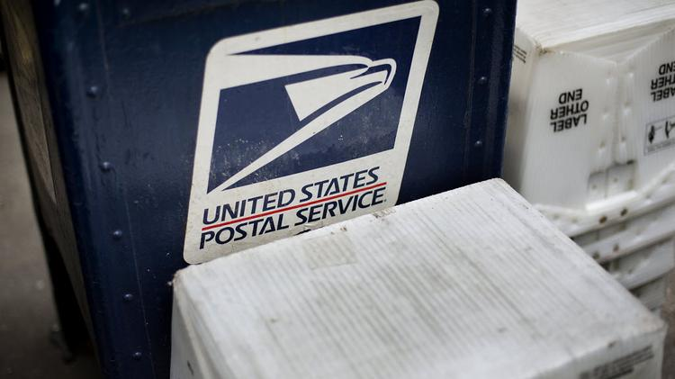 The U.S. Postal Service suspended mail delivery to some areas of Charlotte on Thursday.