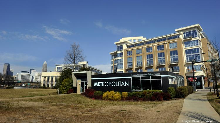 Levine Properties wants to develop a 1.3-acre site at the Metropolitan complex in midtown Charlotte.