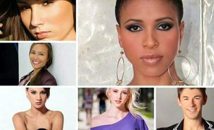 By connecting models with brands, and using social media to let consumers vote for favorites, ModelLauncher.com is looking to disrupt the industry. Among its successful alum is Brandi Vicks, top right, who now appears on Project Runway.