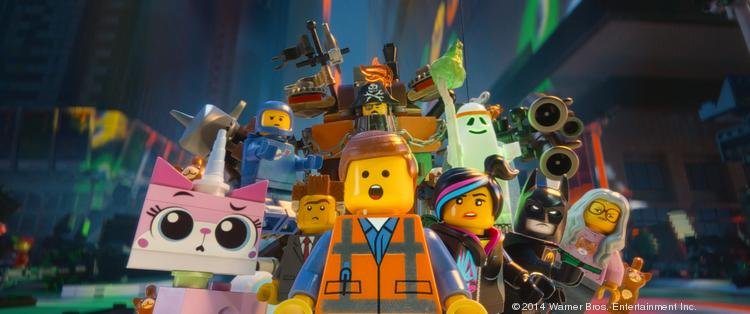 """""""The Lego Movie"""" has been a huge success for Lego and has now become a big event for the theme parks."""