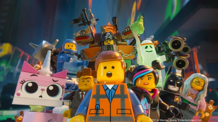 """""""The Lego Movie"""" has a nearly perfect rating on Rotten Tomatoes and could gross $50 million or more this weekend."""