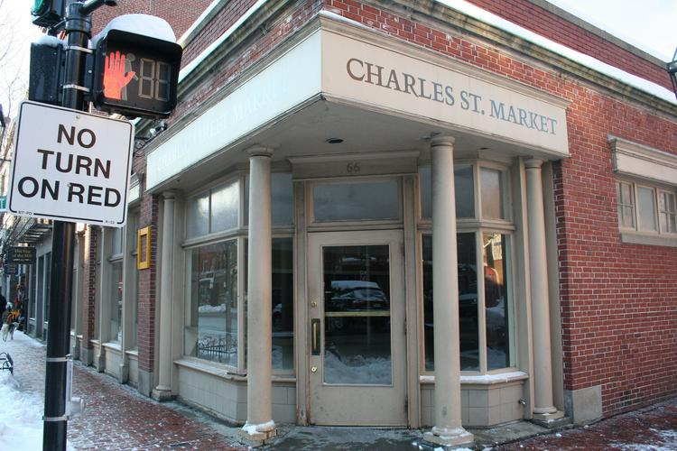 The former Charles Street Market is set to become a Peet's Coffee & Tea.