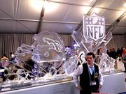 One more huge ice sculpture.