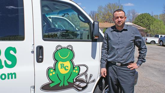 Alex Harb, founder of Ribbit Computers, is the Small Business Administration's Small Business Person of the Year for Kansas.