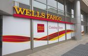 Wells Fargo will peel the window wrapper April 15