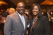 Donnell Spivey, president, National Association of Real Estate Brokers; Bessie Conway, broker, Realty Executives Premier Group