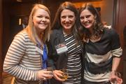 Kammie Shaw, special projects, American City Business Journals; Rosheen O'Donovan, national audience development director, ACBJ; Selena Weaver, national sales manager, ACBJ