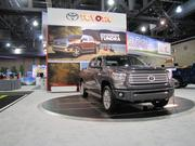 The Toyota Tundra pickup, which sells for around $47,000.