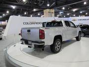 The Chevy Colorado pickup truck.