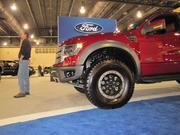 The Ford F-150 Raptor model has a 6.2-liter engine and a price tag of $59,000.