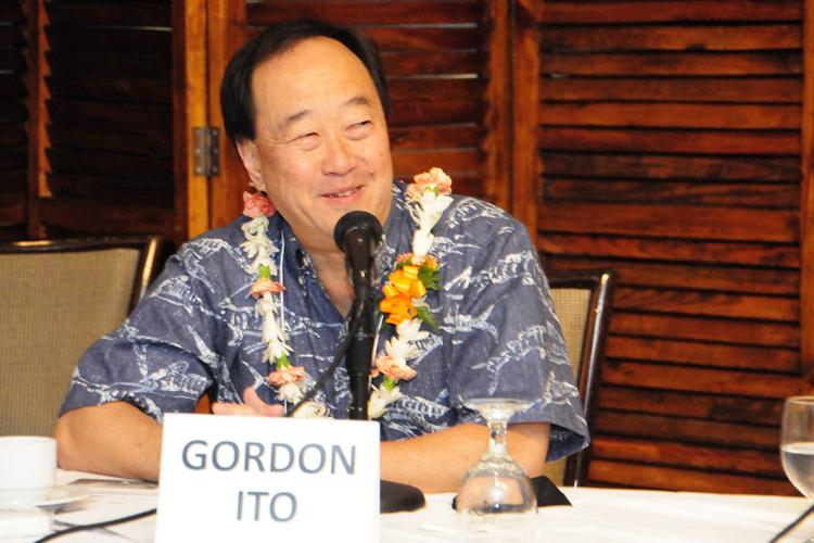 Hawaii state Insurance Commissioner Gordon Ito was one of the panelists at  PBN's panel discussion on health care reform at the Plaza Club in Downtown Honolulu on Friday.