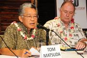 Tom Matsuda, interim director of Hawaii Health Connector was a panelist at PBN's panel discussion on health care reform at the Plaza Club in Downtown Honolulu on Friday.