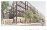 Another exterior rendering from Patkau and Ayers Saint Gross, Krueck & Sexton