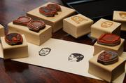 Stamp Yo Face! sells custom-made stamps, stamps of celebrities and speech bubbles.