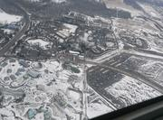 A view of the Columbus Zoo and Aquarium from the plane.
