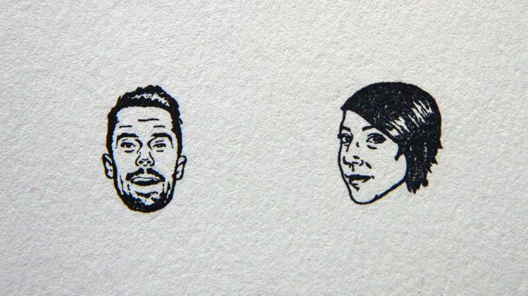 Kevin Wildt and Hannah Scott of Stamp Yo Face!