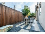 A yard (kind of) in Palo Alto? This home has it.
