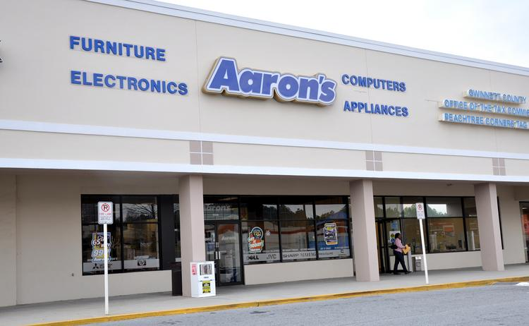 An Aaron's Inc. store.