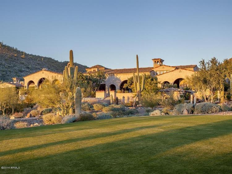 This $32 million estate in Scottsdale is the most expensive home listed for sale in Arizona. Click through to take a tour of the home.