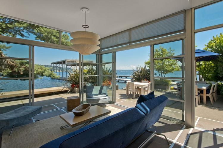 This house in the Seward Park area of Seattle is one that made a Realogics Sotheby's International Realty list of properties that it could market to NBA coaches and players, should they come to Seattle.