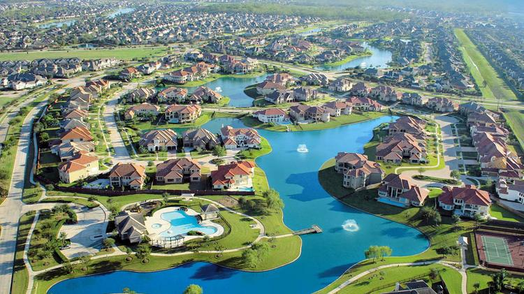 Pre-sales have begun on homes in the Avalon section of Riverstone in Sugar Land.