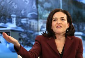 Sheryl Sandberg, billionaire and chief operating officer of Facebook, has partnered with Getty Images through her LeanIn.org nonprofit to add non-sexist images of girls and women to their stock collection.