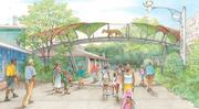 A rendering of the Big Cat Crossing opening in the spring.