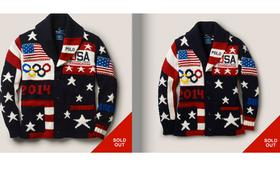 Ralph Lauren designed these sweaters for Team USA at the Sochi Olympics. They've gotten mixed reviews, but are sold out on his site.