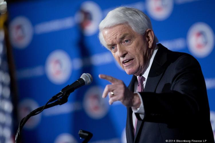 "Thomas ""Tom"" Donohue, president and chief executive officer of the U.S. Chamber of Commerce."