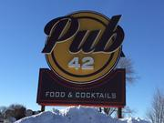 Pub 42 opened Nov. 18, but wasn't fully operational until last Friday.