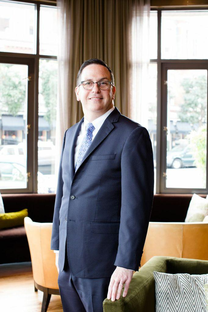 David Lemmond is the new general manager at Hotel Vitale.