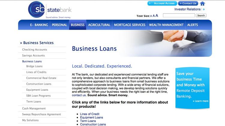 State Bank is looking to expand in Dublin.