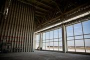 An unfinished room at RDU's Terminal 1 that will be used as extra space for potential lessees in the future.