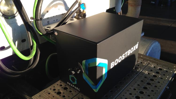 A new factory planned by startup Hexfuel will make a diesel engine enhancement device called Boostbox in Hastings.