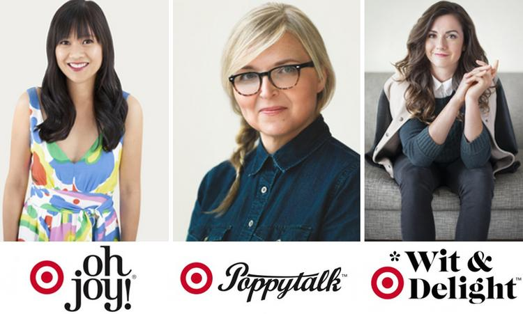 Target will roll out new collections inspired by top Pinterest pinners Joy Cho, Jan Halverson and Kate Arends throughout the year.